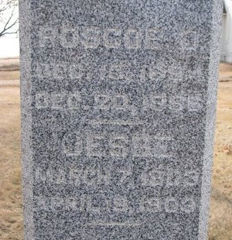 BECHTEL, ROSCOE O. (CLOSE UP) - Dodge County, Nebraska | ROSCOE O. (CLOSE UP) BECHTEL - Nebraska Gravestone Photos