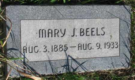 BEELS, MARY J. - Dodge County, Nebraska | MARY J. BEELS - Nebraska Gravestone Photos