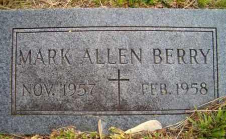BERRY, MARK ALLEN - Dodge County, Nebraska | MARK ALLEN BERRY - Nebraska Gravestone Photos
