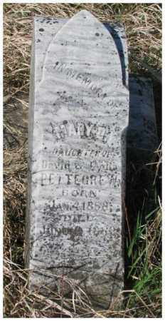 BETTEGREW, MARY D. - Dodge County, Nebraska | MARY D. BETTEGREW - Nebraska Gravestone Photos