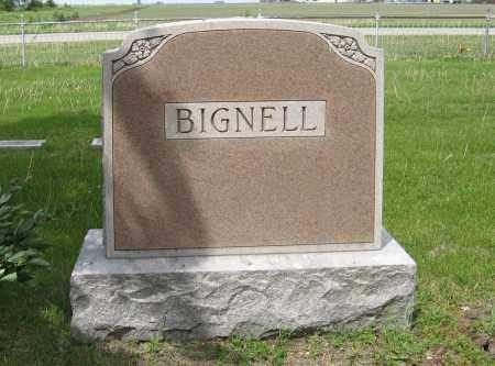 BIGNELL, (FAMILY MONUMENT) - Dodge County, Nebraska | (FAMILY MONUMENT) BIGNELL - Nebraska Gravestone Photos