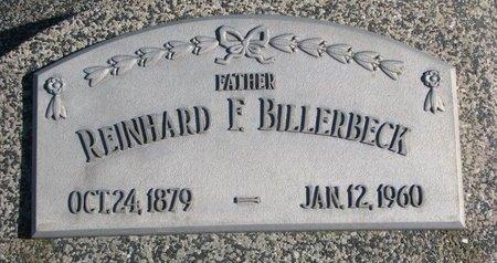 BILLERBECK, REINHARD F. - Dodge County, Nebraska | REINHARD F. BILLERBECK - Nebraska Gravestone Photos