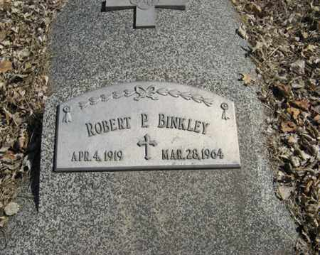 BINKLEY, ROBERT P. - Dodge County, Nebraska | ROBERT P. BINKLEY - Nebraska Gravestone Photos