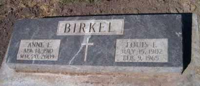 BIRKEL, ANNE E - Dodge County, Nebraska | ANNE E BIRKEL - Nebraska Gravestone Photos