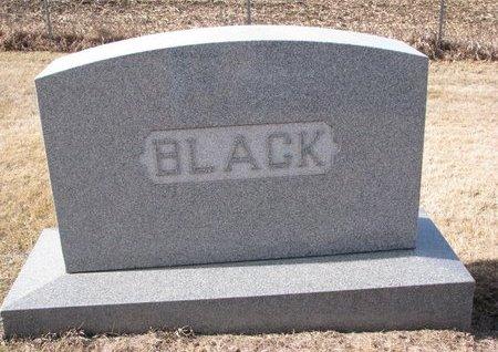 BLACK, *FAMILY MONUMENT - Dodge County, Nebraska | *FAMILY MONUMENT BLACK - Nebraska Gravestone Photos