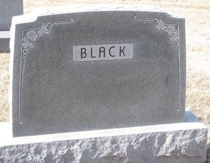BLACK, *FAMILY MONUMENT - Dodge County, Nebraska | *FAMILY MONUMENT BLACK - Nebraska Gravestone Photos