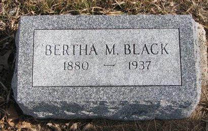 BLACK, BERTHA MAE - Dodge County, Nebraska | BERTHA MAE BLACK - Nebraska Gravestone Photos