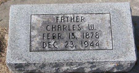 BLACK, CHARLES W. - Dodge County, Nebraska | CHARLES W. BLACK - Nebraska Gravestone Photos