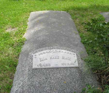 BLACK, ELLA MARIE - Dodge County, Nebraska | ELLA MARIE BLACK - Nebraska Gravestone Photos