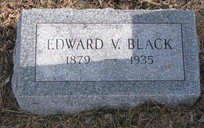 BLACK, EDWARD V. - Dodge County, Nebraska | EDWARD V. BLACK - Nebraska Gravestone Photos
