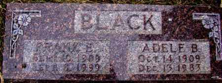 BLACK, FRANK E. - Dodge County, Nebraska | FRANK E. BLACK - Nebraska Gravestone Photos