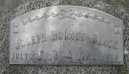 BLACK, JOSEPH HORACE (CLOSE UP) - Dodge County, Nebraska | JOSEPH HORACE (CLOSE UP) BLACK - Nebraska Gravestone Photos
