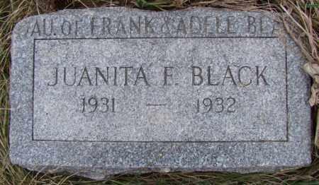 BLACK, JUANITA FAY - Dodge County, Nebraska | JUANITA FAY BLACK - Nebraska Gravestone Photos