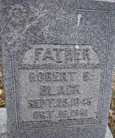 BLACK, ROBERT B. - Dodge County, Nebraska | ROBERT B. BLACK - Nebraska Gravestone Photos