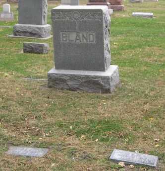 BLAND, (FAMILY MONUMENT) - Dodge County, Nebraska | (FAMILY MONUMENT) BLAND - Nebraska Gravestone Photos