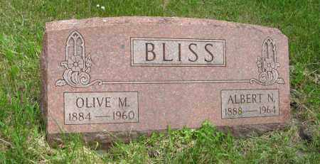 BLISS, ALBERT N. - Dodge County, Nebraska | ALBERT N. BLISS - Nebraska Gravestone Photos