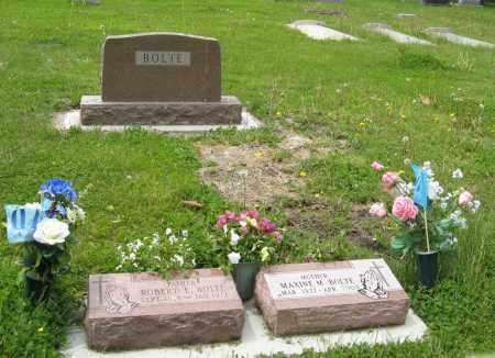 BOLTE, (FAMILY PLOT) - Dodge County, Nebraska | (FAMILY PLOT) BOLTE - Nebraska Gravestone Photos
