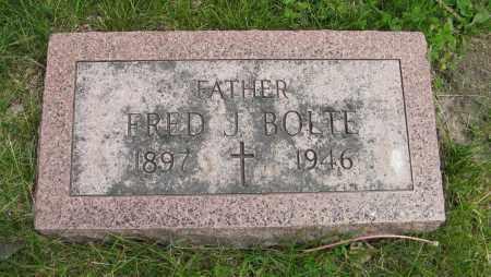 BOLTE, FRED J. - Dodge County, Nebraska   FRED J. BOLTE - Nebraska Gravestone Photos