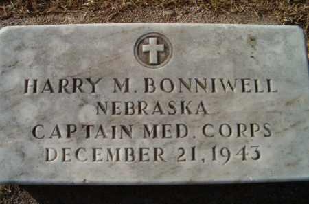 BONNIWELL, HARRY M (MILITARY MARKER) - Dodge County, Nebraska | HARRY M (MILITARY MARKER) BONNIWELL - Nebraska Gravestone Photos
