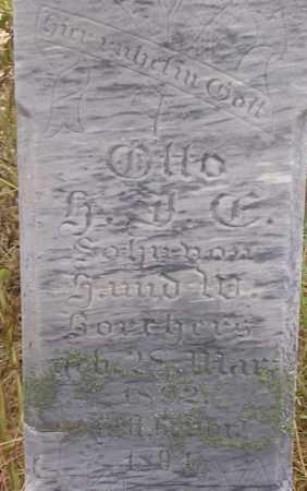 BORCHER, OTTO - Dodge County, Nebraska | OTTO BORCHER - Nebraska Gravestone Photos