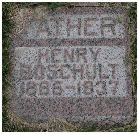 BOSCHULT, HENRY - Dodge County, Nebraska   HENRY BOSCHULT - Nebraska Gravestone Photos