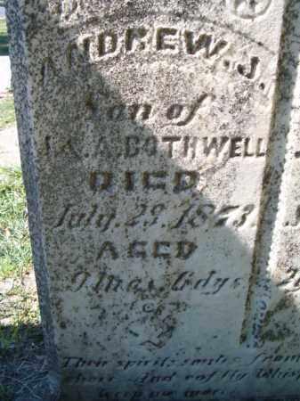 BOTHWELL, ANDREW J - Dodge County, Nebraska | ANDREW J BOTHWELL - Nebraska Gravestone Photos