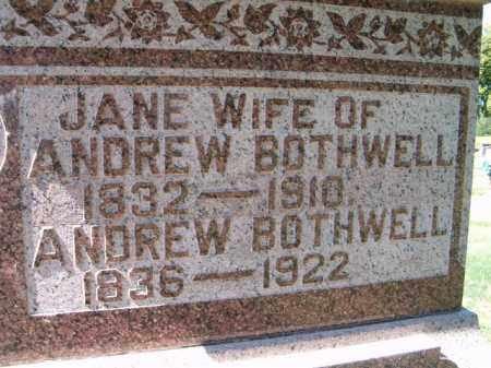 BOTHWELL, ANDREW - Dodge County, Nebraska | ANDREW BOTHWELL - Nebraska Gravestone Photos