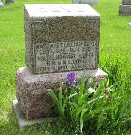 BOYD, MARGARET LILLIAN - Dodge County, Nebraska | MARGARET LILLIAN BOYD - Nebraska Gravestone Photos
