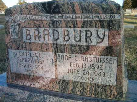 RASMUSSEN BRADBURY, ANNA C - Dodge County, Nebraska | ANNA C RASMUSSEN BRADBURY - Nebraska Gravestone Photos