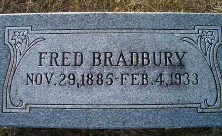 BRADBURY, FRED - Dodge County, Nebraska | FRED BRADBURY - Nebraska Gravestone Photos