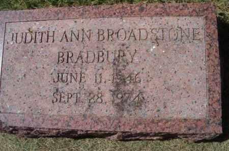 BRADBURY, JUDITH ANN - Dodge County, Nebraska   JUDITH ANN BRADBURY - Nebraska Gravestone Photos