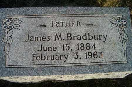 BRADBURY, JAMES M - Dodge County, Nebraska | JAMES M BRADBURY - Nebraska Gravestone Photos