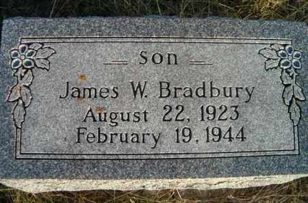 BRADBURY, JAMES W - Dodge County, Nebraska | JAMES W BRADBURY - Nebraska Gravestone Photos