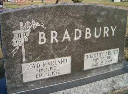 BRADBURY, DOROTHY ARDITH - Dodge County, Nebraska   DOROTHY ARDITH BRADBURY - Nebraska Gravestone Photos