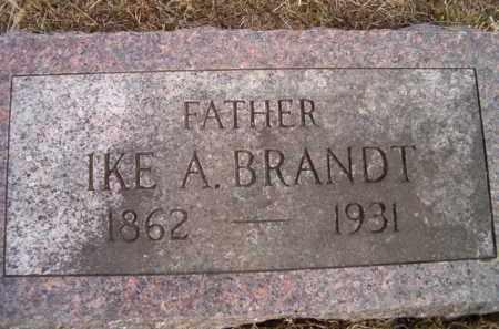 BRANDT, IKE A - Dodge County, Nebraska | IKE A BRANDT - Nebraska Gravestone Photos