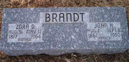 BRANDT, JOHN H - Dodge County, Nebraska   JOHN H BRANDT - Nebraska Gravestone Photos