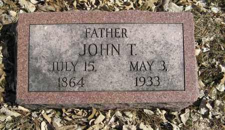 BRENNAN, JOHN T. - Dodge County, Nebraska | JOHN T. BRENNAN - Nebraska Gravestone Photos