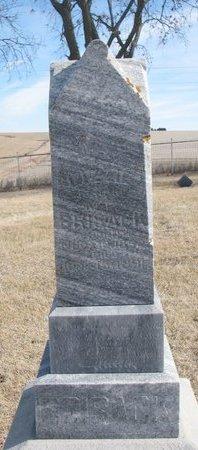 BRISACK, LIZZIE - Dodge County, Nebraska | LIZZIE BRISACK - Nebraska Gravestone Photos