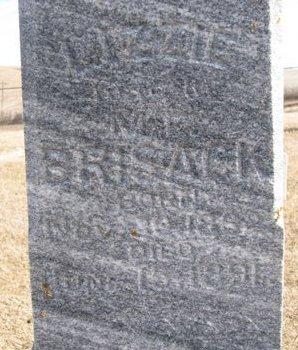BRISACK, LIZZIE (CLOSE UP) - Dodge County, Nebraska | LIZZIE (CLOSE UP) BRISACK - Nebraska Gravestone Photos