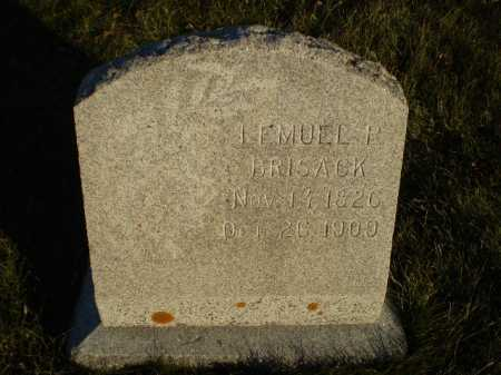 BRISACK, LEMUEL P - Dodge County, Nebraska | LEMUEL P BRISACK - Nebraska Gravestone Photos