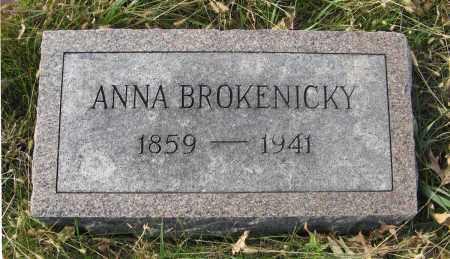 BROKENICKY, ANNA - Dodge County, Nebraska | ANNA BROKENICKY - Nebraska Gravestone Photos