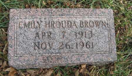 BROWN, EMILY - Dodge County, Nebraska | EMILY BROWN - Nebraska Gravestone Photos