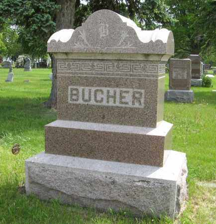 BUCHER, (FAMILY MONUMENT) - Dodge County, Nebraska | (FAMILY MONUMENT) BUCHER - Nebraska Gravestone Photos