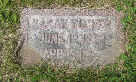 BUCHER, SARAH - Dodge County, Nebraska | SARAH BUCHER - Nebraska Gravestone Photos