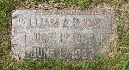 BUCHER, WILLIAM A. - Dodge County, Nebraska | WILLIAM A. BUCHER - Nebraska Gravestone Photos