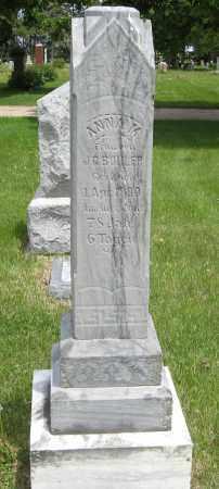 BUHLER, ANNA M. - Dodge County, Nebraska | ANNA M. BUHLER - Nebraska Gravestone Photos