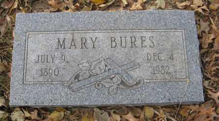 BURES, MARY - Dodge County, Nebraska   MARY BURES - Nebraska Gravestone Photos