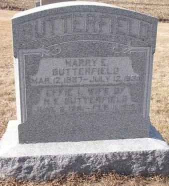BUTTERFIELD, EFFIE L. - Dodge County, Nebraska   EFFIE L. BUTTERFIELD - Nebraska Gravestone Photos