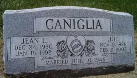 CANIGLIA, JOE - Dodge County, Nebraska | JOE CANIGLIA - Nebraska Gravestone Photos
