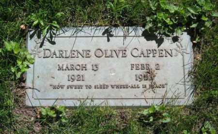 CAPPEN, DARLENE OLIVE - Dodge County, Nebraska | DARLENE OLIVE CAPPEN - Nebraska Gravestone Photos